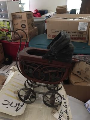 Old baby carriage for Sale in Cumming, GA