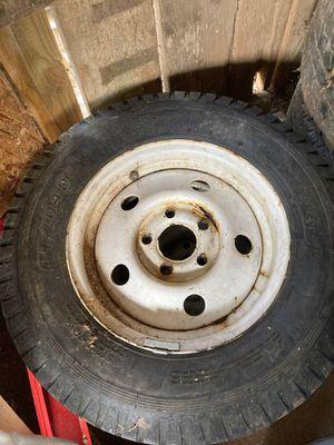 Utility trailer tires and rims for Sale in Marietta, GA