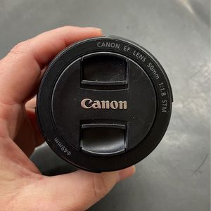 Canon EF 50mm 1:1.8 STM Camera Lens for Sale in Phoenix, AZ