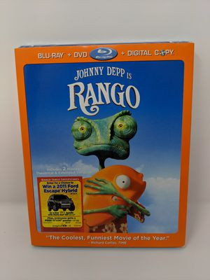New Rango DVD Blue ray for Sale in Levittown, NY
