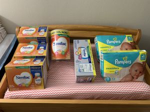 Similac & Pampers Bundle for Sale in Montpelier, MD