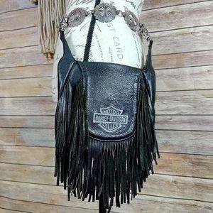 Harley Davidson | Leather Fringe Belt/Hip Bag for Sale in Las Vegas, NV