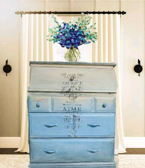 Shabby Chic Secretary Desk for Sale in Clearwater, FL