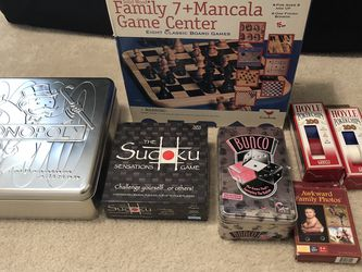 Family Fun Game Pack for Sale in Puyallup,  WA