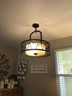 light fixture for Sale in Stockton, CA