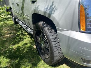 22 rims and tires for Sale in Alexandria, VA