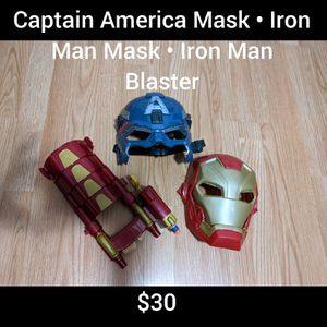 Superhero Masks and Blaster for Sale in Orlando, FL