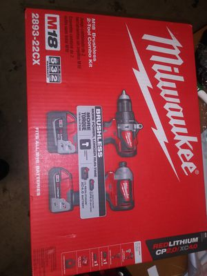 Milwaukee brushless combo kit for Sale in Colton, CA