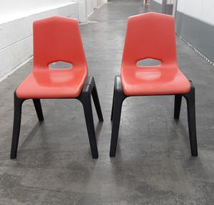 Kids chairs school style for Sale in St. Louis, MO