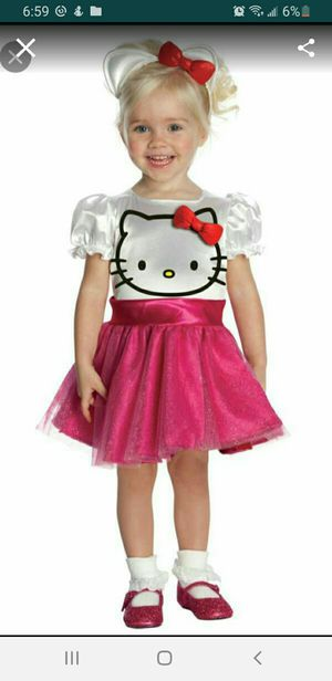 Hello kitty costume size 2t for Sale in Phoenix, AZ