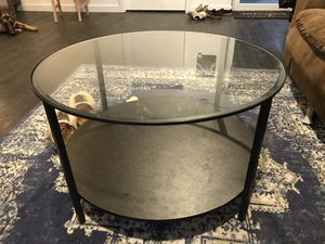 Glass top coffee table for Sale in Bend, OR
