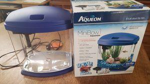 Aqueon desktop aquarium with filter for Sale in San Pedro, CA