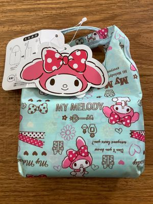 MY MELODY REUSABLE SHOPPING BAG TOTE HELLO KITTY SANRIO NEW for Sale in Alamo, CA