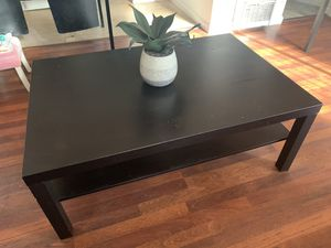 Ikea LACK Coffee table, black-brown for Sale in San Diego, CA