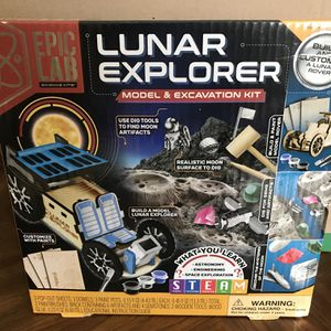 Lunar Model and Excavation Kit for Sale in Rancho Cucamonga, CA