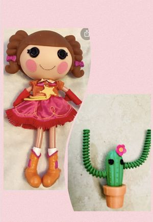 Lalaloopsy Praire Dusty Trails Big Doll and Cactus for Sale in Mobile, AZ