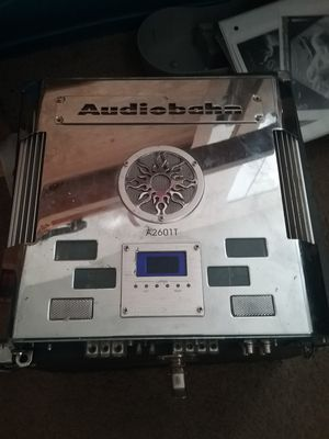 Audiobahn car amplifier for Sale in Renton, WA