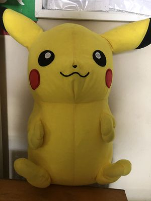 Giant large huge Pokémon go pickachu soft stuffed kid plush toys figure for Sale in Spring Valley, CA