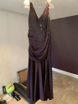 Purple (eggplant) dress size 14 for Sale in Milwaukie, OR