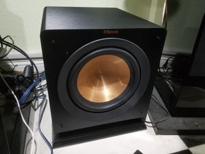 Klipsch R 110SW Wireless subwoofer 300 watts peak for Sale in Anaheim, CA