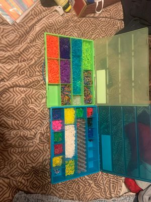 two full boxes of rainbow loom for Sale in El Cajon, CA