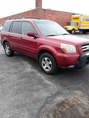 2006 Honda pilot 200k runs and drives leather all power for Sale in Attleboro, MA
