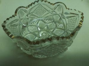 Vintage glassware three pieces for Sale in Phoenix, AZ