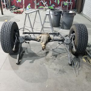 2004 Yukon rear end minus rims and tires. for Sale in Las Vegas, NV