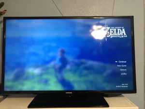 40inch Samsung tv and wii u for sale for Sale in Elgin, TX