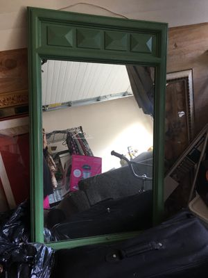 Nice large green mirror for Sale in Anchorage, AK