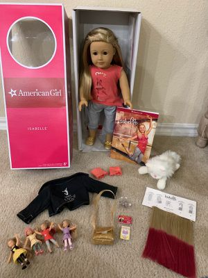 American Girl of the Year (2014) Isabelle Gardner Retired Doll Lot for Sale in Fort Worth, TX
