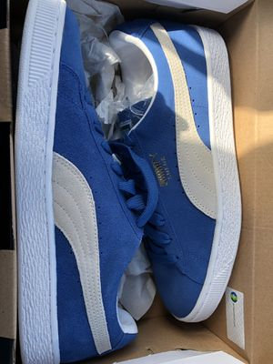 Blue Pumas size 8.5 Men for Sale in Boston, MA