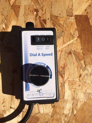 fan dial speed for Sale in Wenatchee, WA