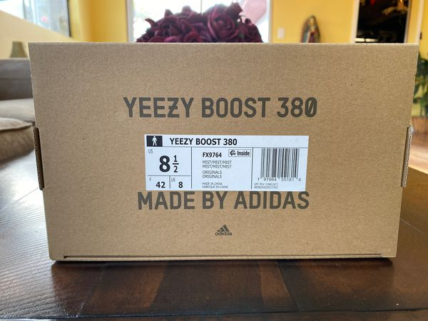 Yeezy boost 380 Mist