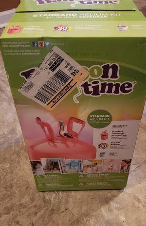 Balloon time standard helium kit (new) for Sale in Norfolk, VA