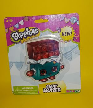 SHOPKINS CHOCOLATE GIANT ERASER for Sale in North Port, FL