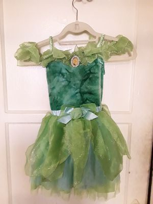 Tinkerbell Halloween costume, Size Sm. 5/6 for Sale in Los Angeles, CA