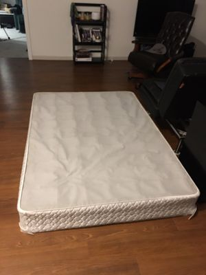 2 Full Size Mattresses and 1 Box Spring for Sale! for Sale in Detroit, MI