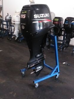 2012 Suzuki Df115 Outboard Motor 25in Shaft for Sale in Fort Lauderdale,  FL