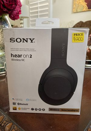Sony hear on 2 wireless nc headphones Bluetooth for Sale in Escondido, CA