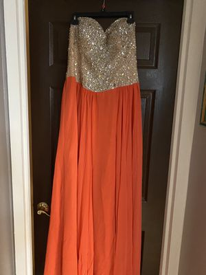 New Terani Couture Prom Wedding Birthday Party Dress Sz 14 for Sale in Sunny Isles Beach, FL
