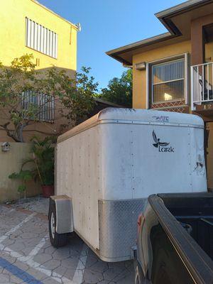 Trailer 5x8 no leaks bill of sale in hand ✋ for Sale in Hialeah, FL