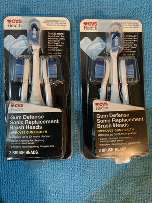 Sonic replacement brush heads for Sale in Riverside, CA