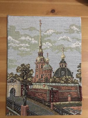 Tapestry Church no frame for Sale in Queens, NY