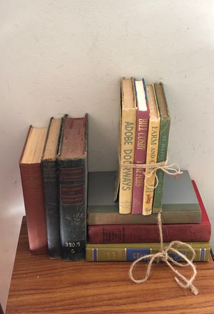 Vintage books for staging for Sale in Katy, TX