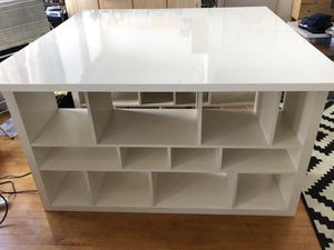 Huge amazing craft table / sewing table with tons of storage for Sale in San Diego, CA