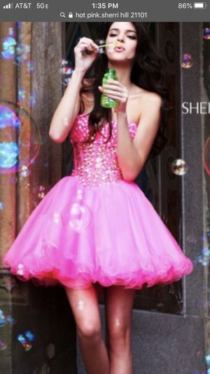 Sherri hill cocktail dress size 0 prom homecoming for Sale in Chandler, AZ