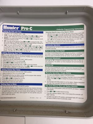 Hunter PC-300i 12 station sprinkler controller for Sale in Round Rock, TX