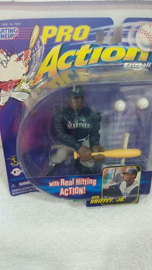Ken Griffey Jr Pro Action Baseball Figure for Sale in Spanaway, WA