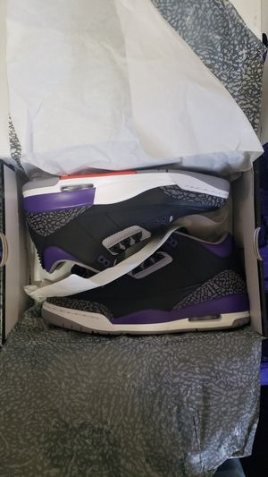 Air Jordan 3 Retro (2020 Purple Court) for Sale in San Francisco, CA